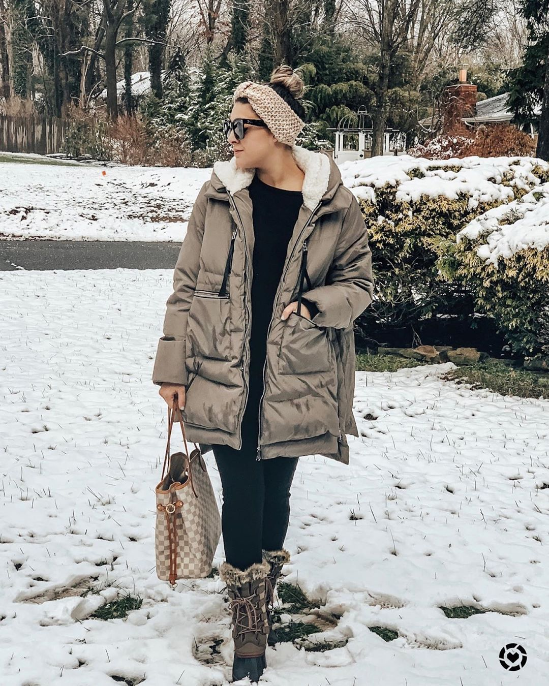 Maria Linda On Instagram Stay Warm Out There People And Also Check Out My Like To Know It For Links To The Coat Of The Season These Adorable But Very Warm B