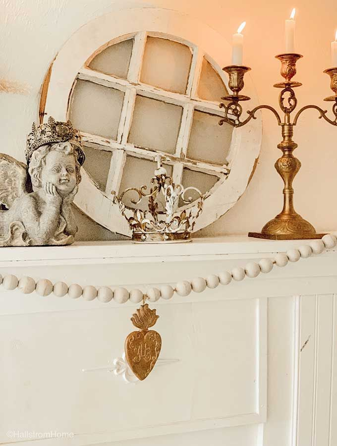 French Country Mantel Decor images