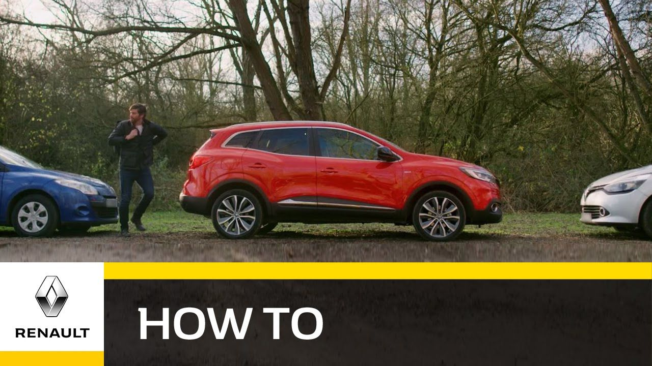 How To Use Hands Free Parking All New Renault Kadjar New Renault Renault Parallel Parking