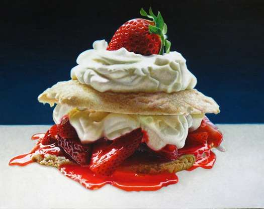 Delicious Dessert Paintings - This Mary Ellen Johnson Series is Mouth Watering (GALLERY)