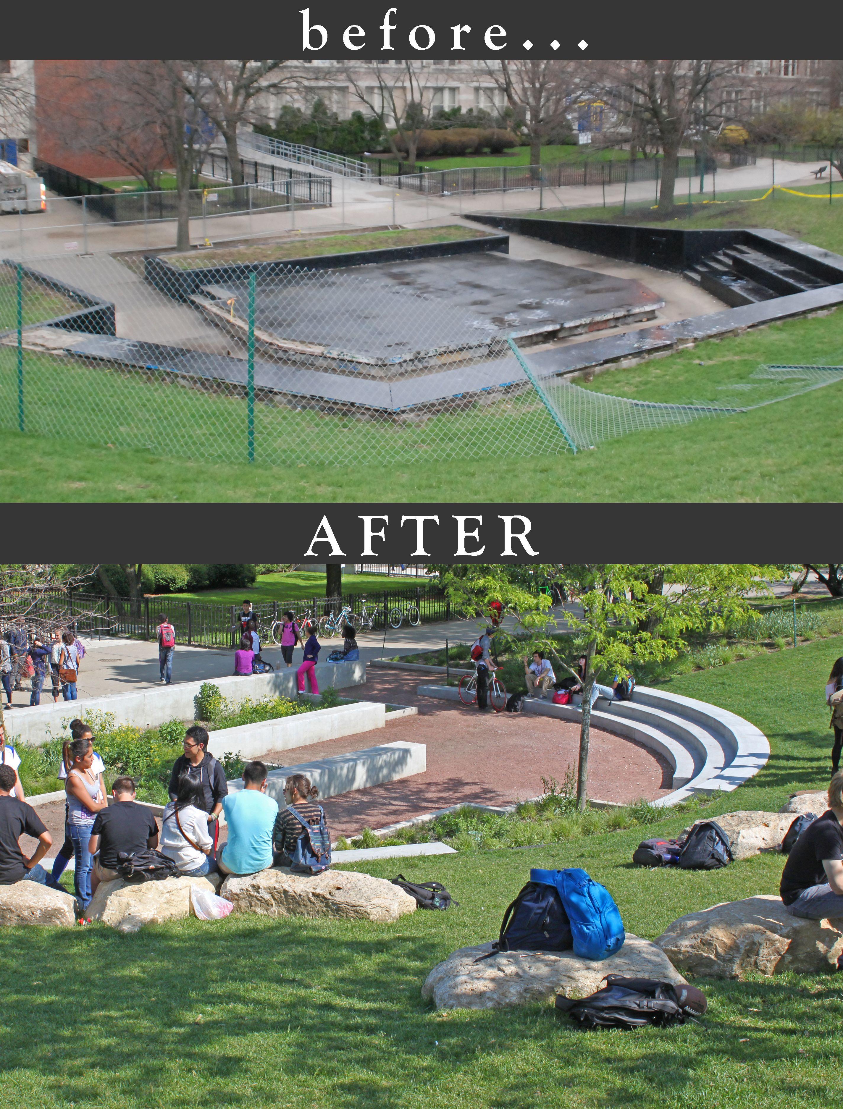 Garden Design Before And After Lincoln Park High School Cullitonquinn Com Lincoln Park High School School Garden Chicago Public Schools