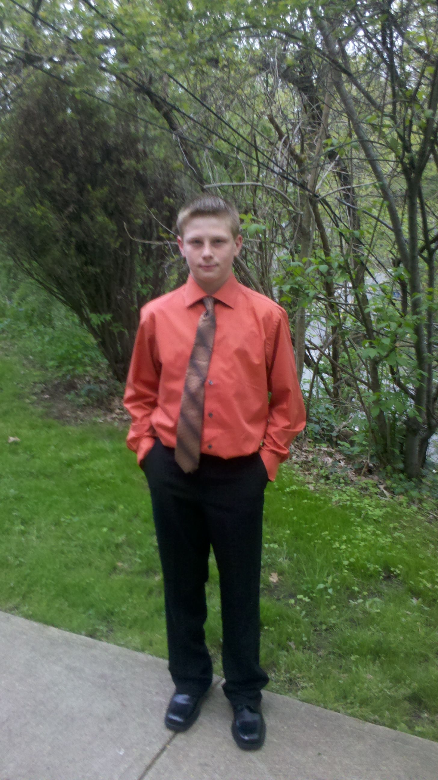 MY baby going to the semi sophomore year.