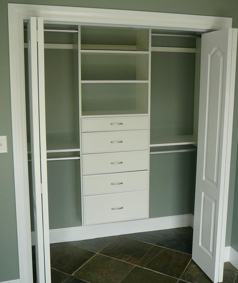 Cute small closet ideas small closet design small for Small bedroom no closet