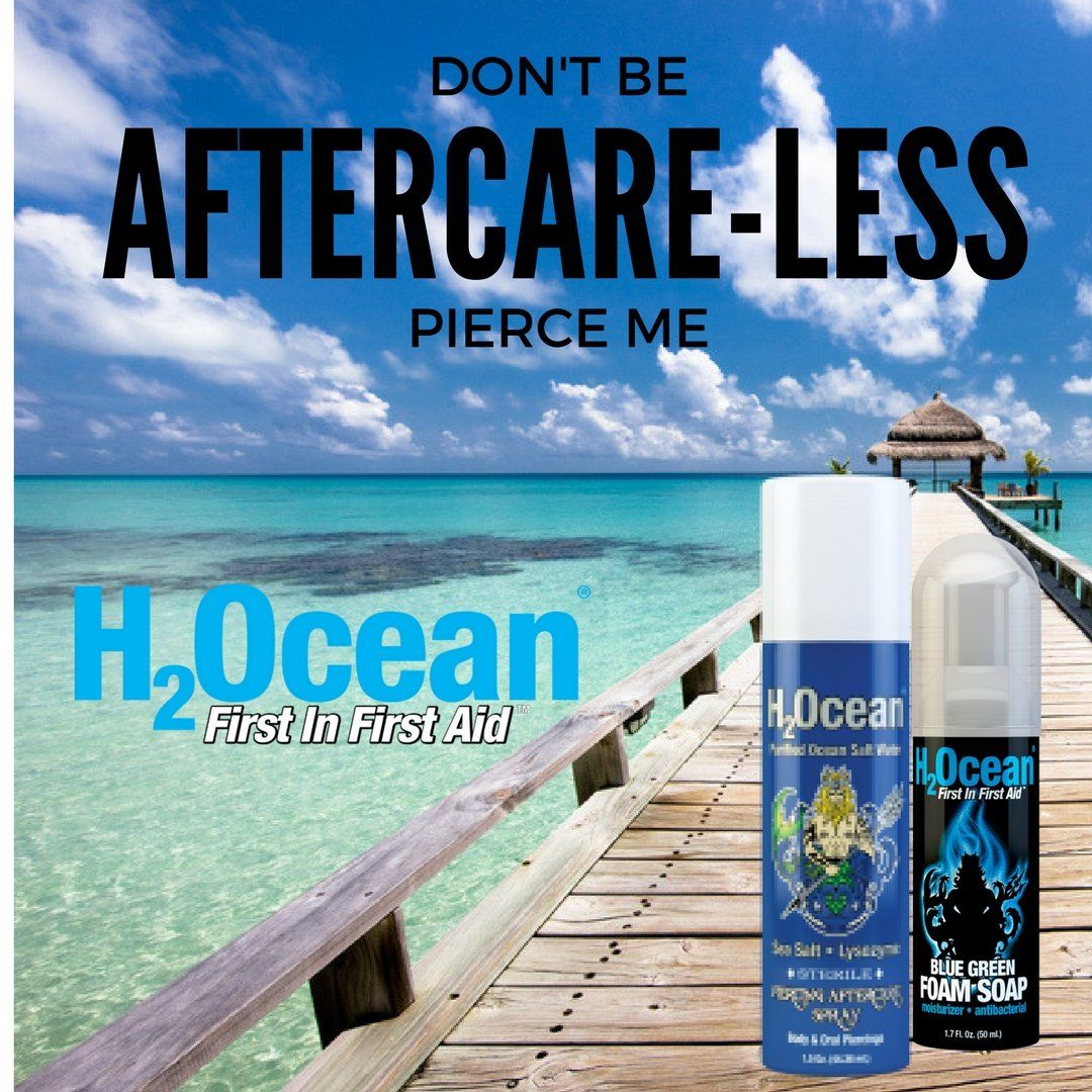 Nose piercing places near me  HOcean Piercing Aftercare Kit   Piercing aftercare