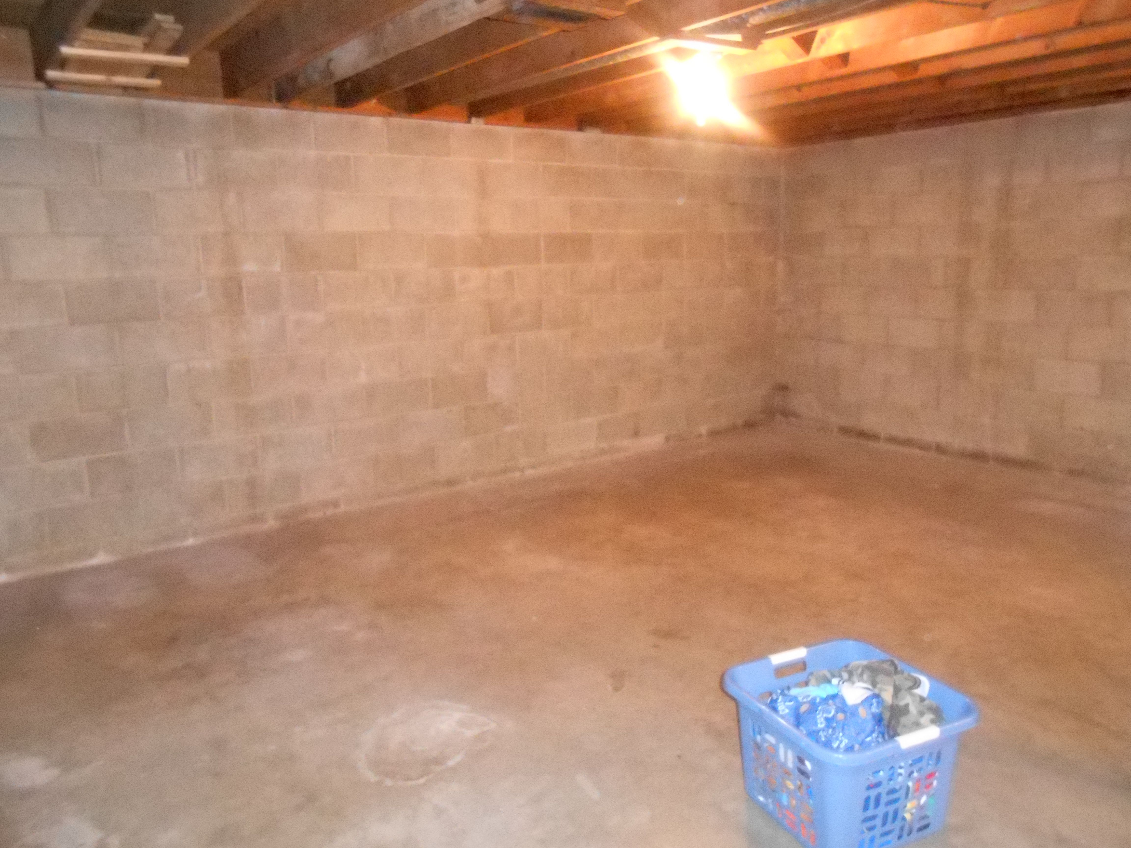 before unfinished basement our basement remodel pinterest