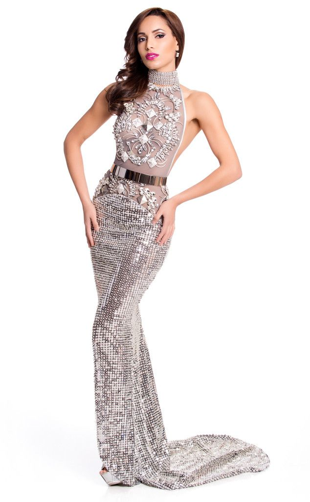 Miss Canada from 2015 Miss Universe Contestants in Evening Gowns ...