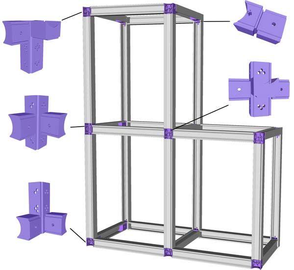 assemblage ossature metallique idees de meubles pinterest ossature m tallique assemblage. Black Bedroom Furniture Sets. Home Design Ideas