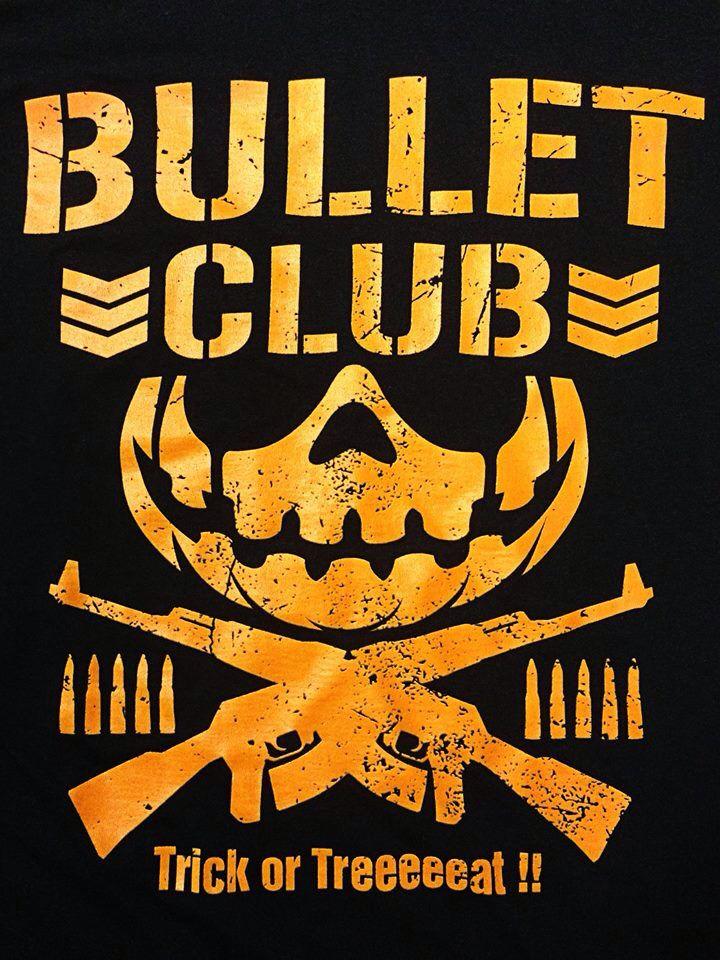 Bullet Club Halloween Bullet Club Logo Ecw Wrestling Halloween Logo