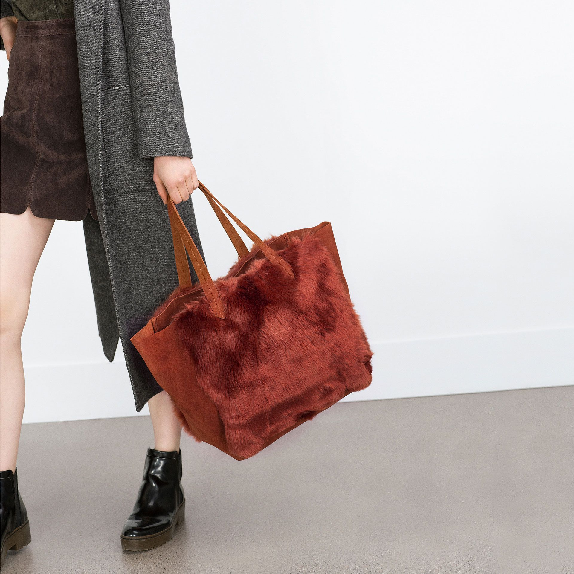 SHOPPER AUS LEDER - Alles anzeigen - Taschen - DAMEN | ZARA Deutschland