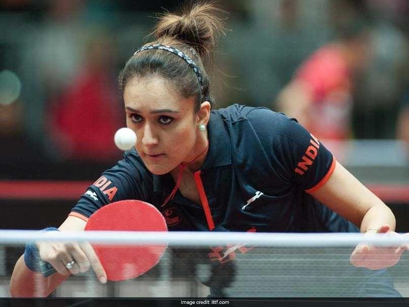 India Table Tennis Sensation Manika Batra Sets Eye On Asian Games 2018 Glory Asian Games Game 2018 Eyes Game