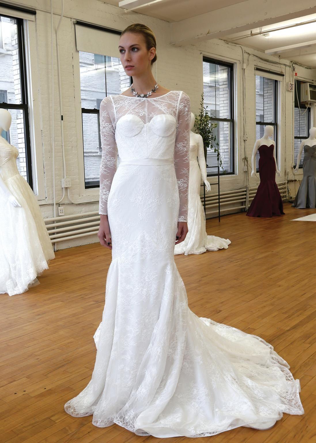 Zac Posen Truly 341506 Wedding Dress New Size 12 780 Wedding Gowns Mermaid Dresses Wedding Gowns [ 1536 x 1097 Pixel ]