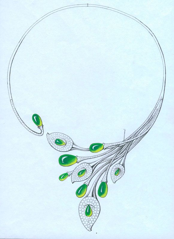 Pin by aibususo.com on Designing Drawing | Jewellery ...