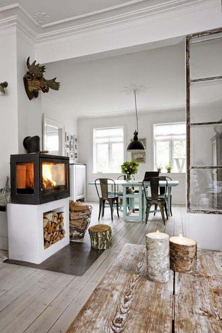 Industriële inrichting- scandinavisch- naturel - wit-grijs - zwart ...