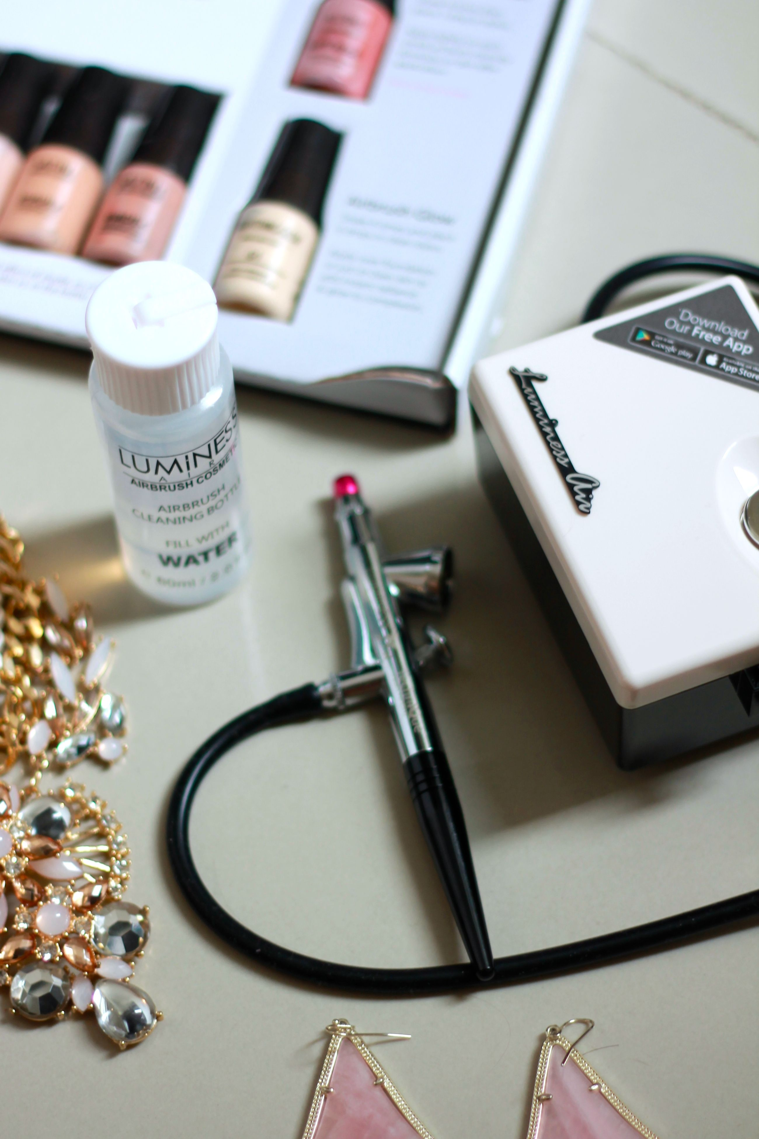 5 Tips for Airbrush Makeup at Home with Luminess Makeup