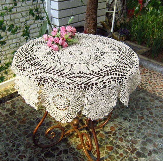 tablecloth   Crochet: Manteles y caminos   Pinterest   Crochet ...