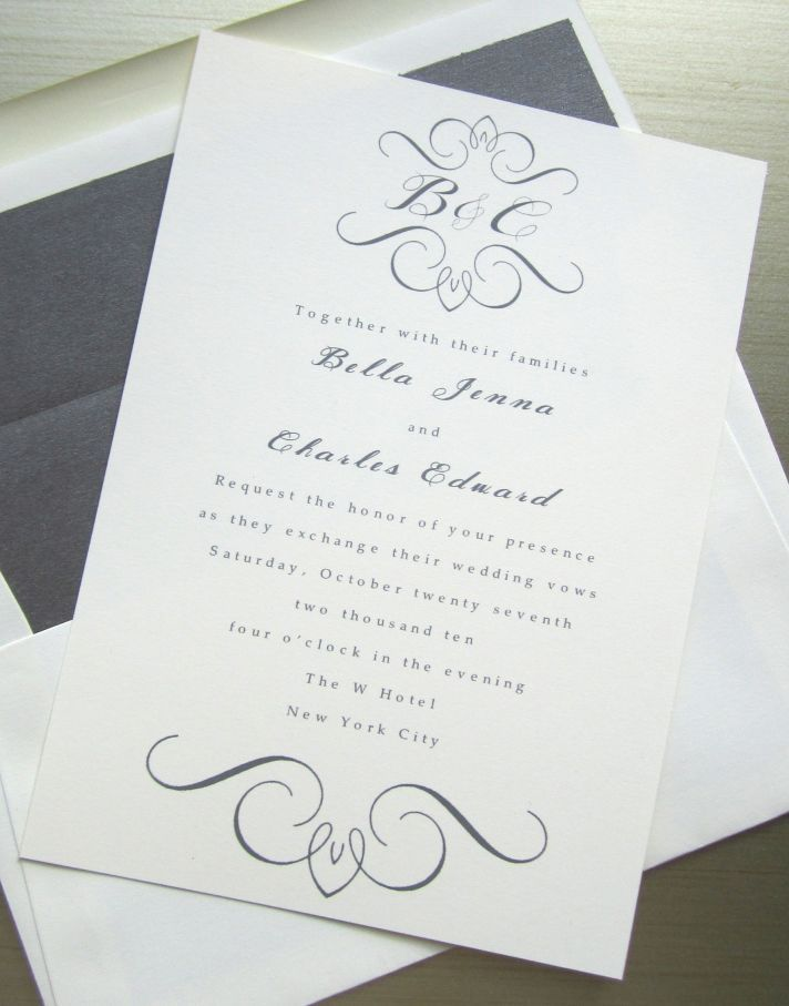 european wedding invitations, elegant wedding invitations, Wedding invitations