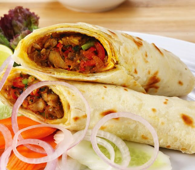chicken kathi roll  indian food recipes food recipes