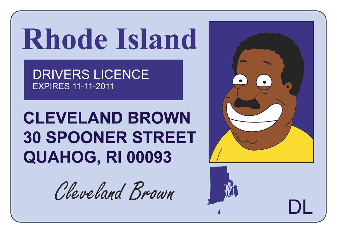 Cleveland Brown Road Trip Packing List American Dad Family Guy