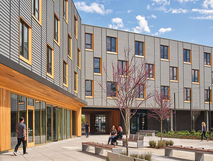 72foster By Holst Architecture Architecture Metal Panels Architecture Multifamily Housing