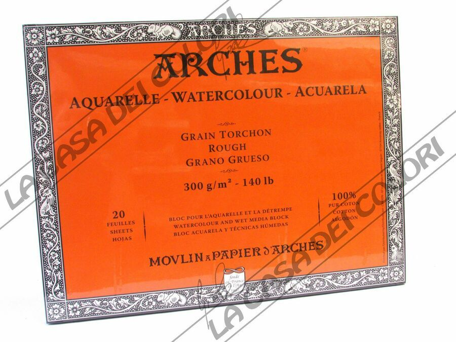 Details About Arches Aquarelle Paper Blocks Adhesive Bindings 4