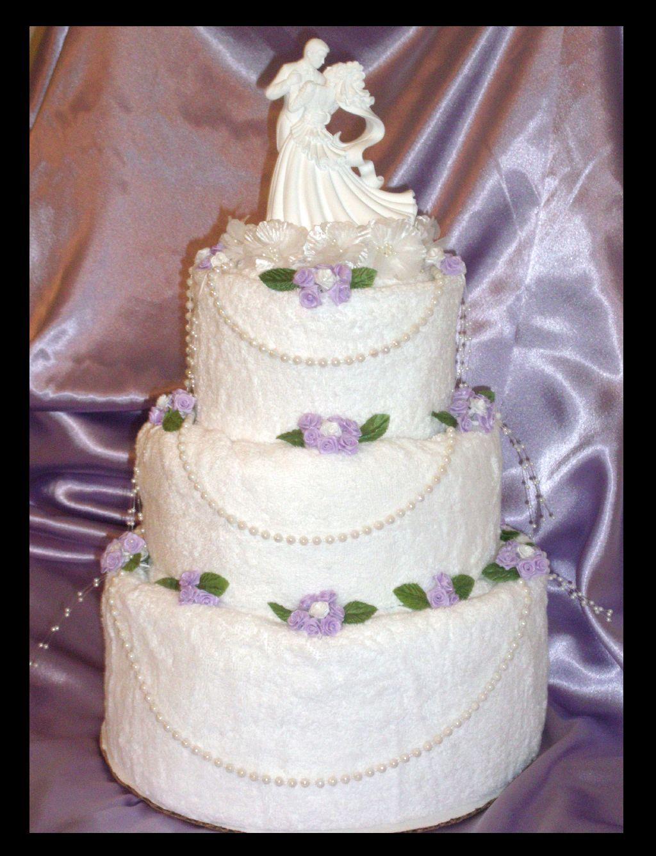 Unique Wedding Towel Cake Gifted Wedding Towel Cakes Towel Cakes Kitchen Towel Cakes