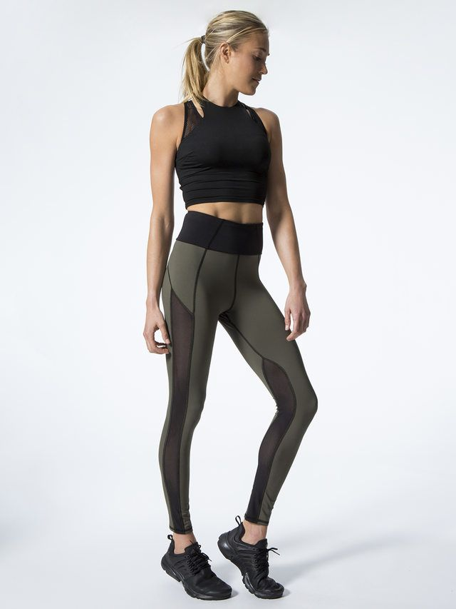 d822622eb38a2 Summit High Waisted Legging | Fit Style | Workout leggings, Sports ...