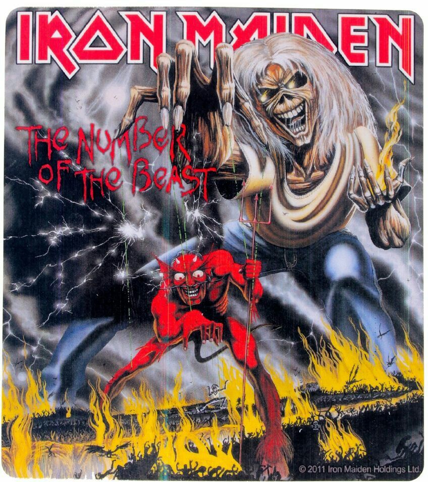 78 The Number Of The Beast Iron Maiden 1982 With Images