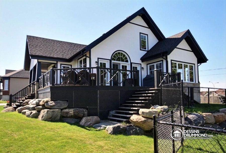 Détail du plan de Maison unifamiliale W3945 Houses \ House Stuff