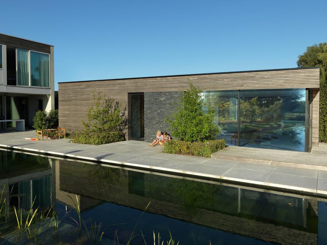 Moderne bijgebouwen in hout livinlodge