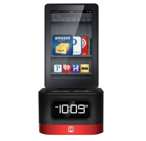 f25da9a1f20b iHome Alarm Clock Charger for Kindle Fire –  60