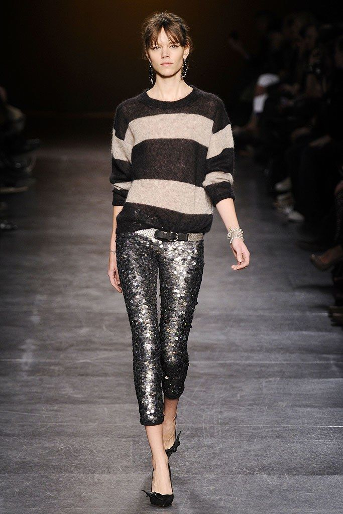 Isabel Marant Fall 2010 Ready-to-Wear Fashion Show - Freja Beha Erichsen