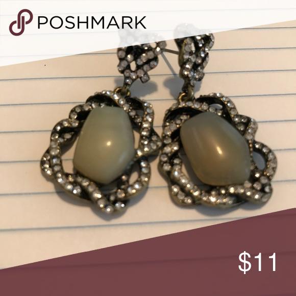 Crystal Pierced Earrings Just beautiful! Jewelry Earrings