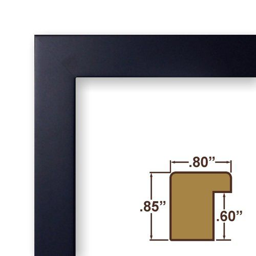 8x10 Picture / Poster Frame, Smooth Satin Finish, 0.8\