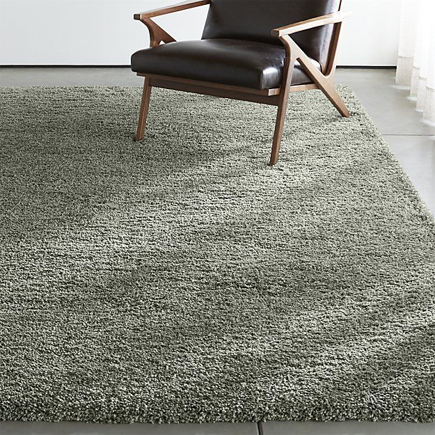 Memphis Sage Green Shag Rug Crate And Barrel Sage Green Rug