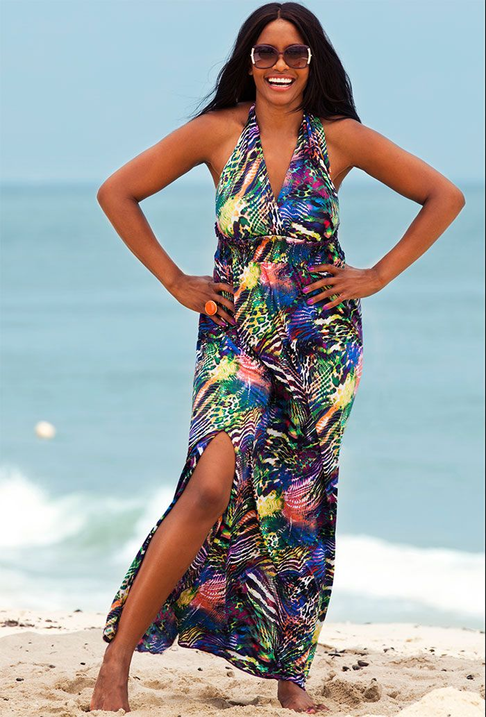 beach wear all sizes   Latest Season Women\'s Plus Size Beach ...