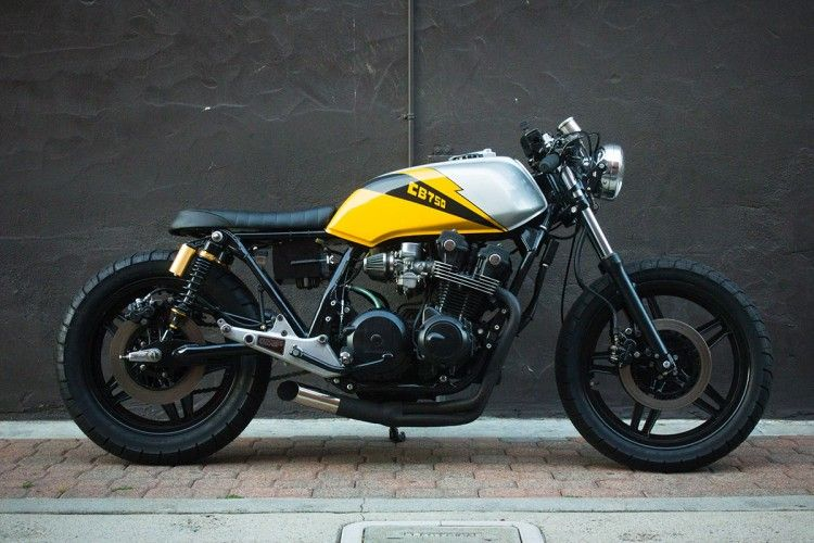 honda cb 750 ellis brothers garage rides motos renato. Black Bedroom Furniture Sets. Home Design Ideas
