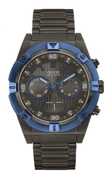 43db94a7444 92516GPGSSA4 Relógio Masculino Guess IP Black