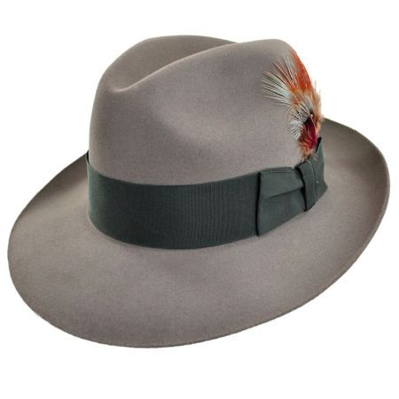 Temple Fur Felt Fedora Hat from  VillageHatShop -- a reasonable alternative  if you can t get a tando 3f7a2638de0