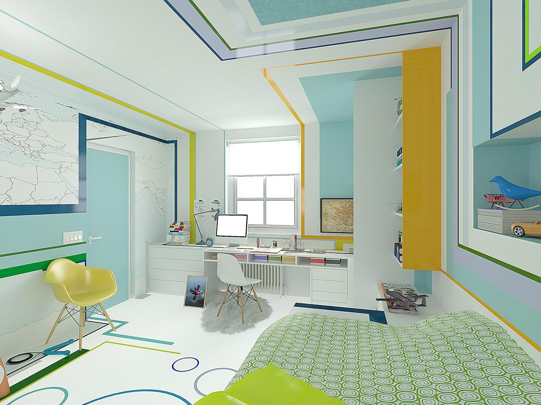 The Little Pilot by Brani & Desi Interior Architects