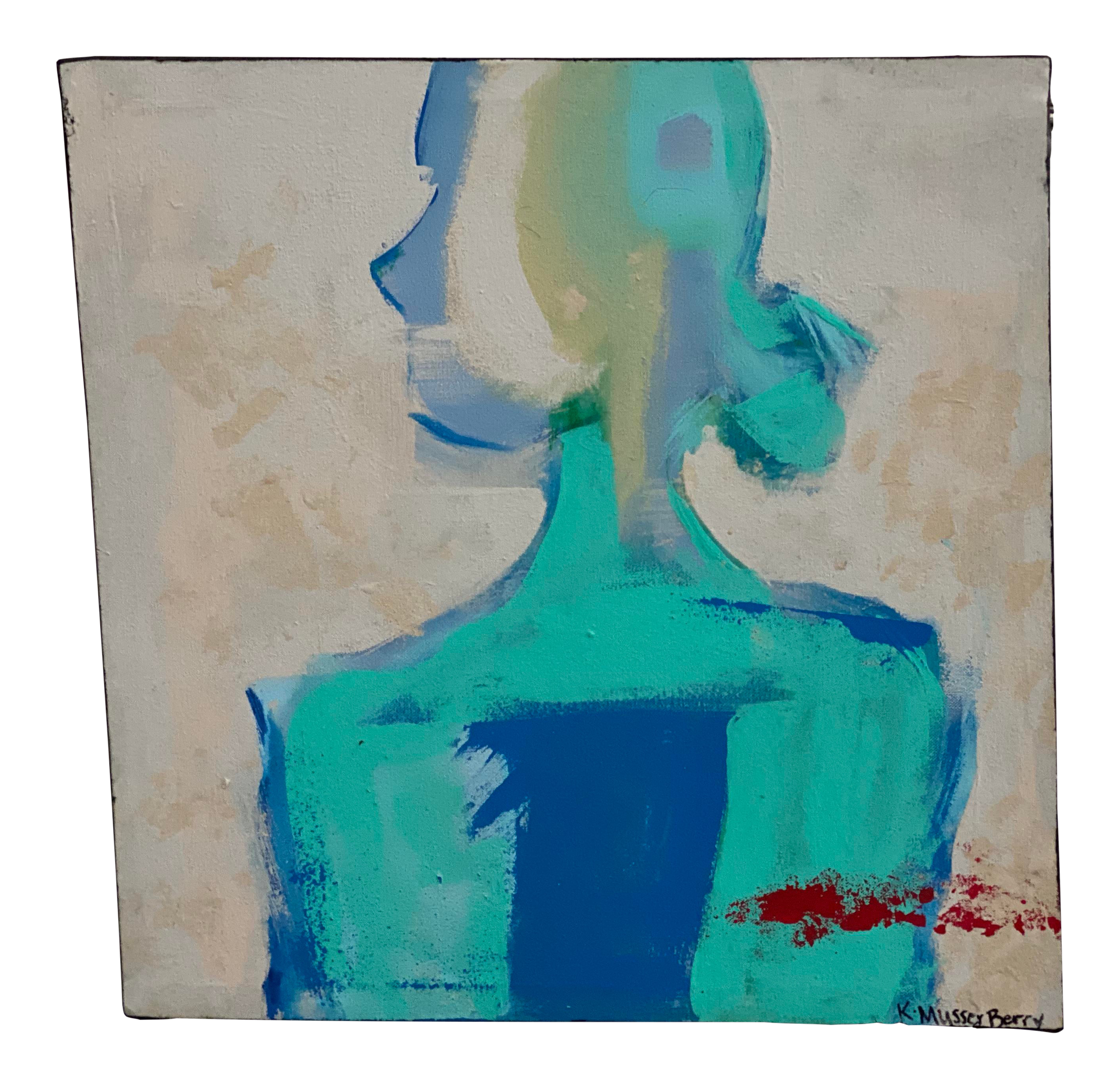 Abstract Acrylic Painting Blue Torso By Katherine Musser Berry In 2020 Fine Art Painting Abstract Abstract Painting Acrylic Abstract Acrylic