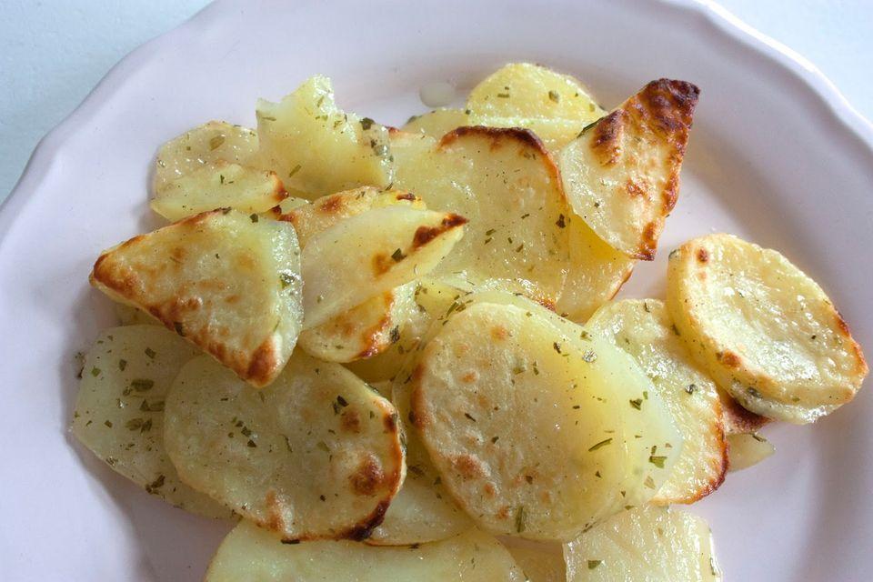 råstekt potatis i ugn