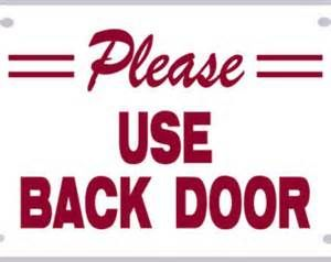 Use Back Door Sign Bing Images Crafts Door Signs Signs Logos