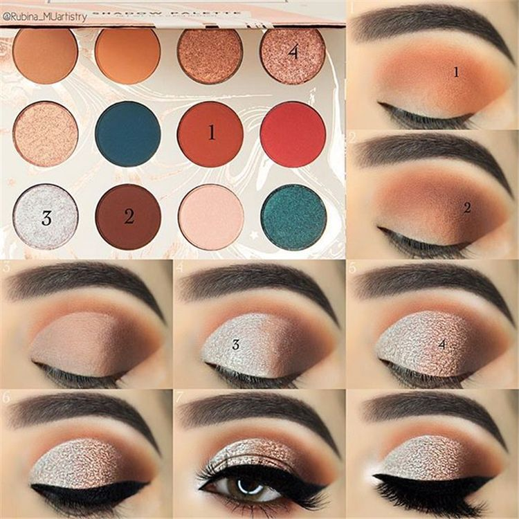 Photo of 43 Eyeshadow Tutorials For Perfect Makeup – So Easy Even Beginners Can Learn