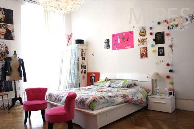 chambre jeune fille chambres enfants pinterest jeune fille jeunesse et chambres. Black Bedroom Furniture Sets. Home Design Ideas