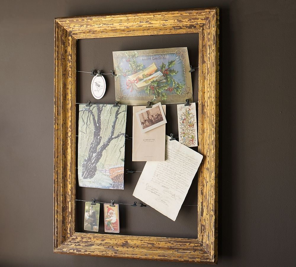 Google Image Result For Http4bpspotzbfkwzmwpi So Pottery Barn Has This  Gorgeous Gilt Frame Card Holder That