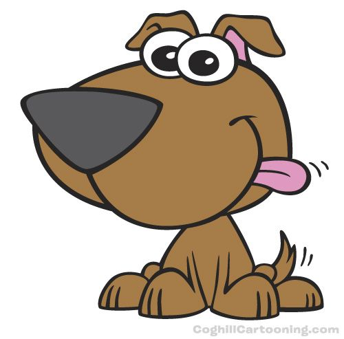 Pictures Of Cartoon Puppy Dogs