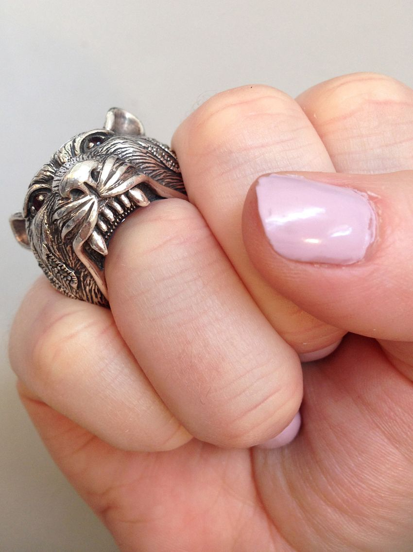 What I\'m Wearing Today   Lion ring, Ring and Mister jewelry