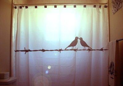 Curtains Ideas bird shower curtain : 17 Best images about Shower curtains on Pinterest | Fun shower ...