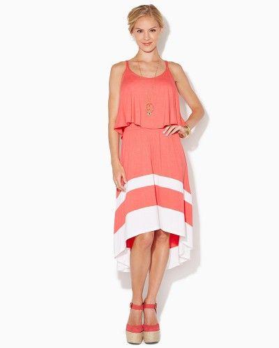 Rosalie Ruffled Dress | Apparel | charming charlie