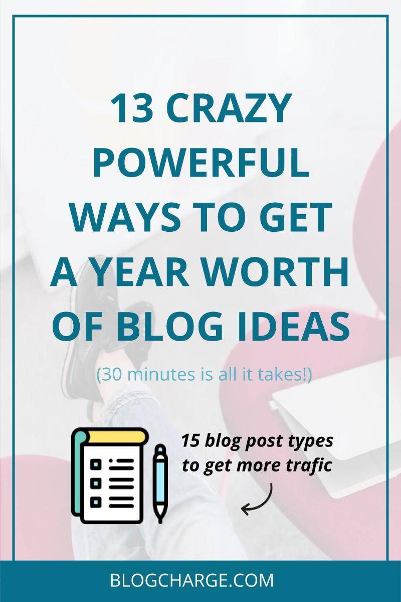 tips to start blogging